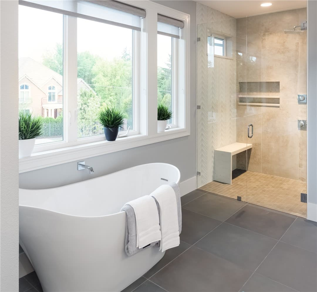 Image salle de bain rénovée Ostwald
