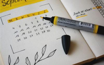 Un calendrier réaliste et des conseils pour le préparer