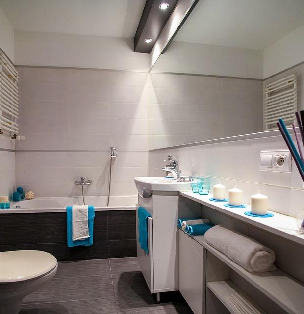 Rangement salle de bain rénové à Strasbourg