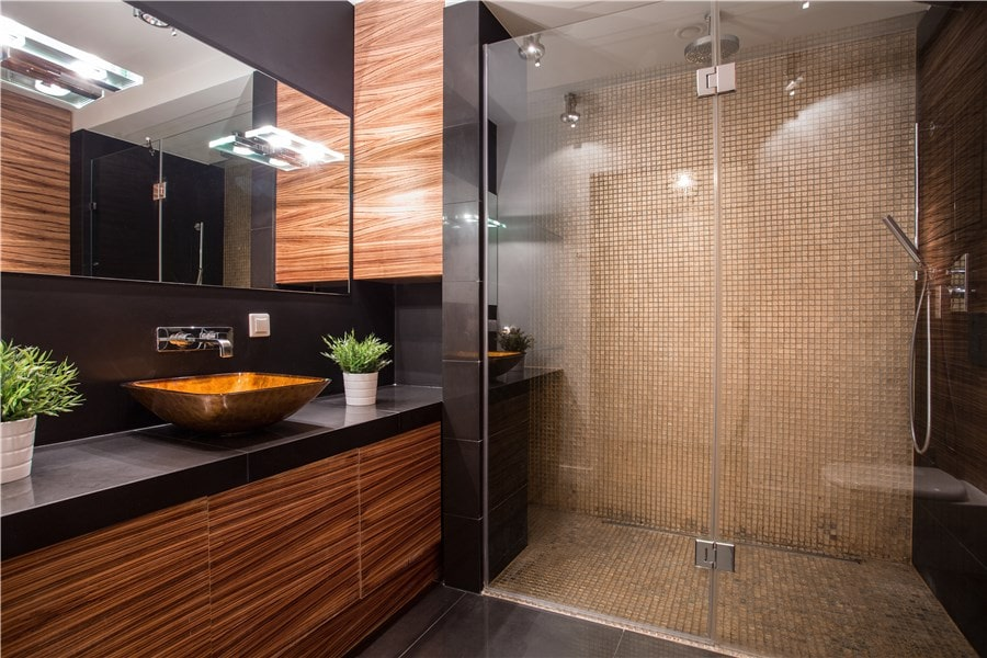 Image salle de bain rénovée Zenity Design rénovation
