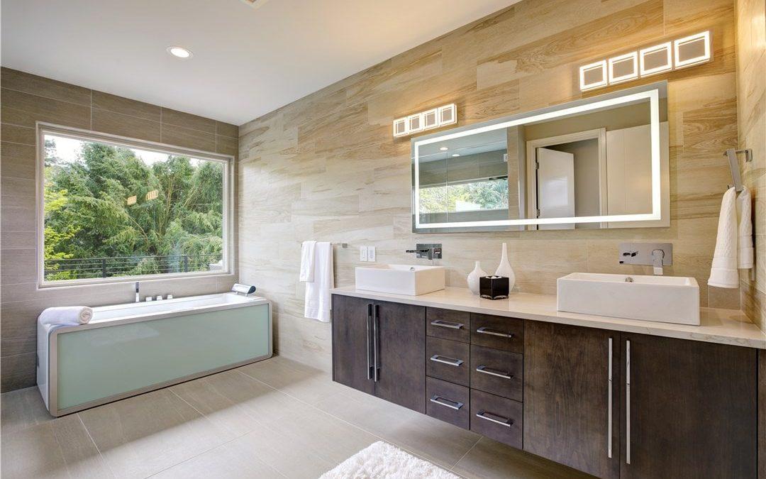 Image d'une salle de bain chauffée par Zenity Design Strasbourg