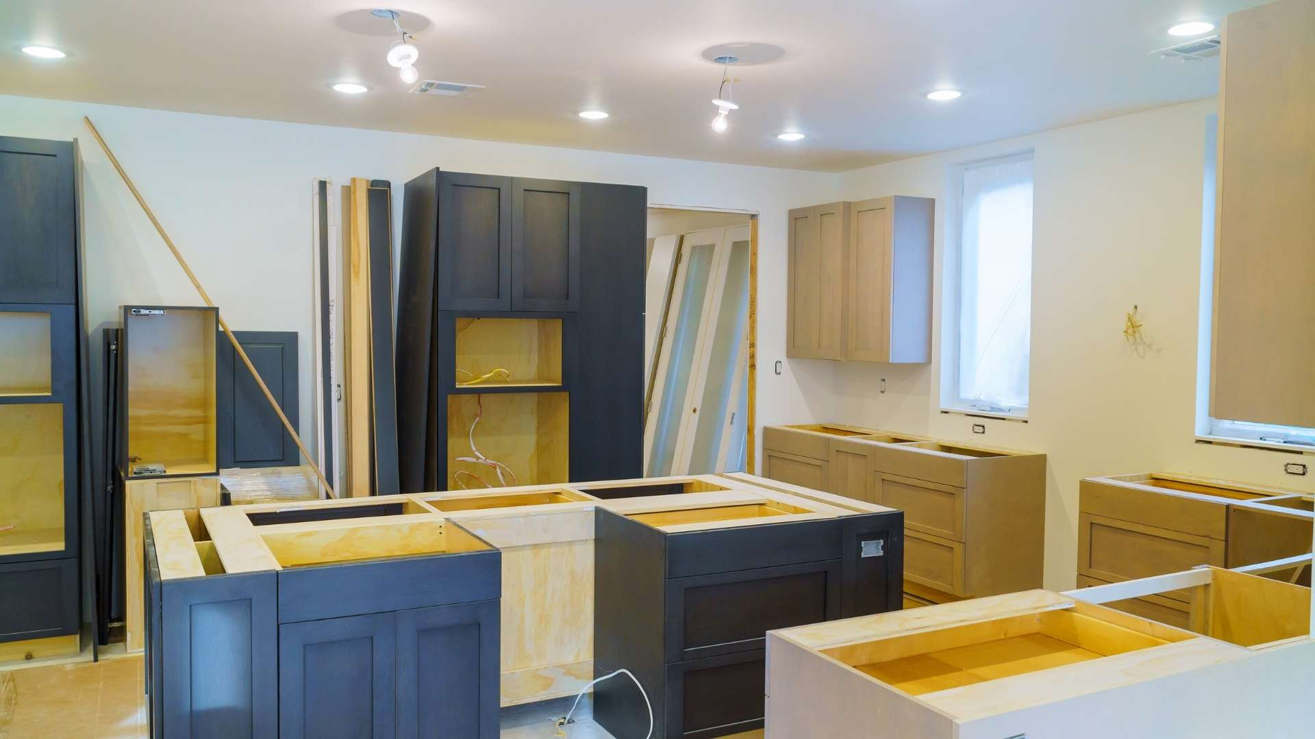 Küchenrenovierung ohne Abriss und zu geringen Kosten